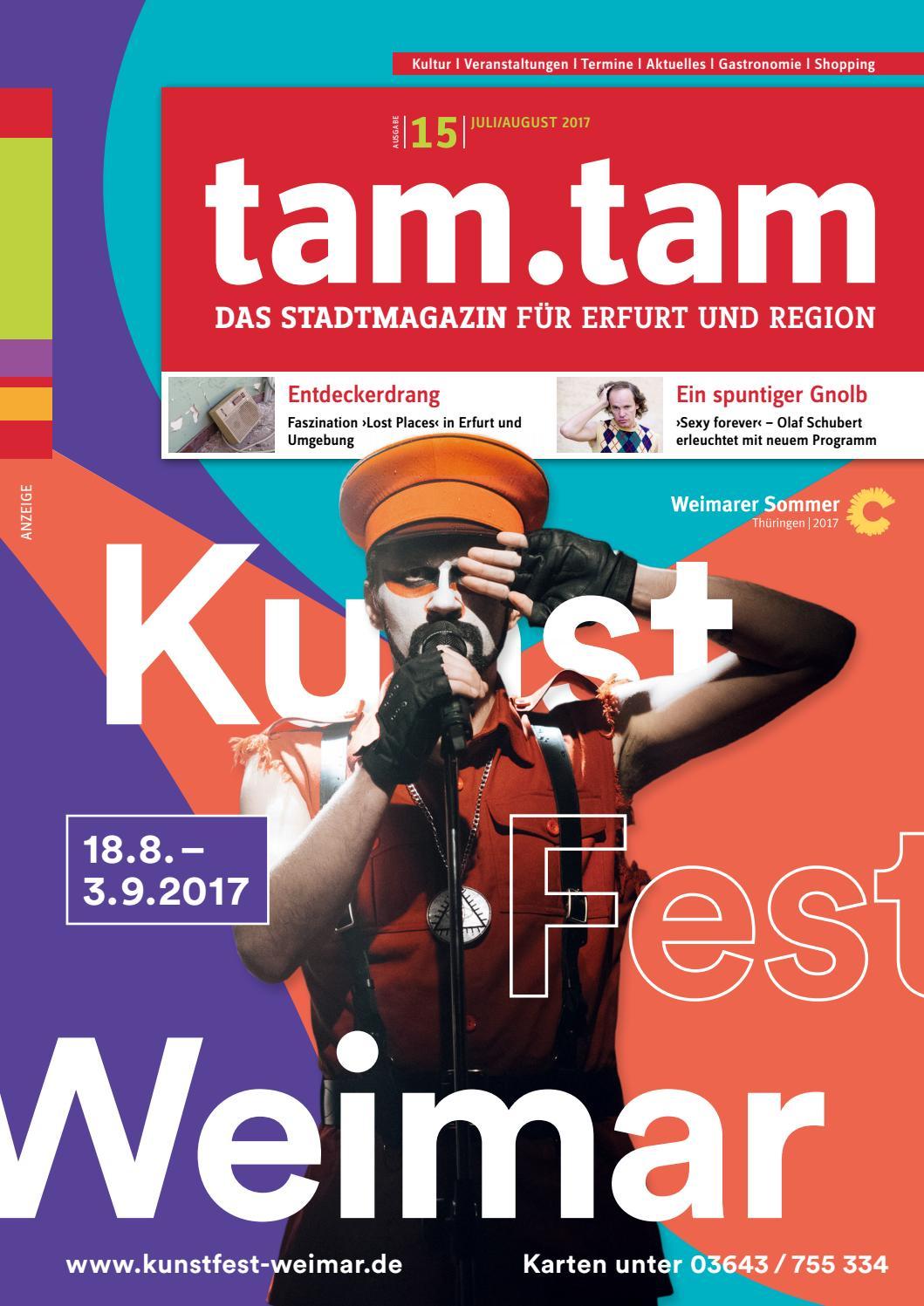 tam.tam Das Stadtmagazin für Erfurt & Region, Ausgabe 15, Juli ...