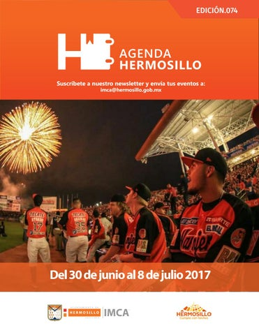 "Cover of ""Agenda Hermosillo 30 junio 2017"""