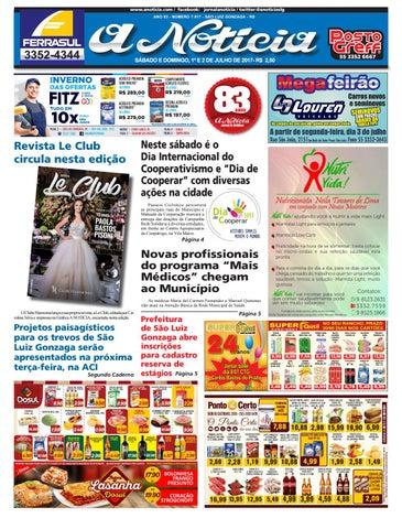 aec0a9f375 www.anoticia.com   facebook  jornalanoticia   twitter  anoticiaslg ANO 83 -  NÚMERO 7.917 - SÃO LUIZ GONZAGA - RS