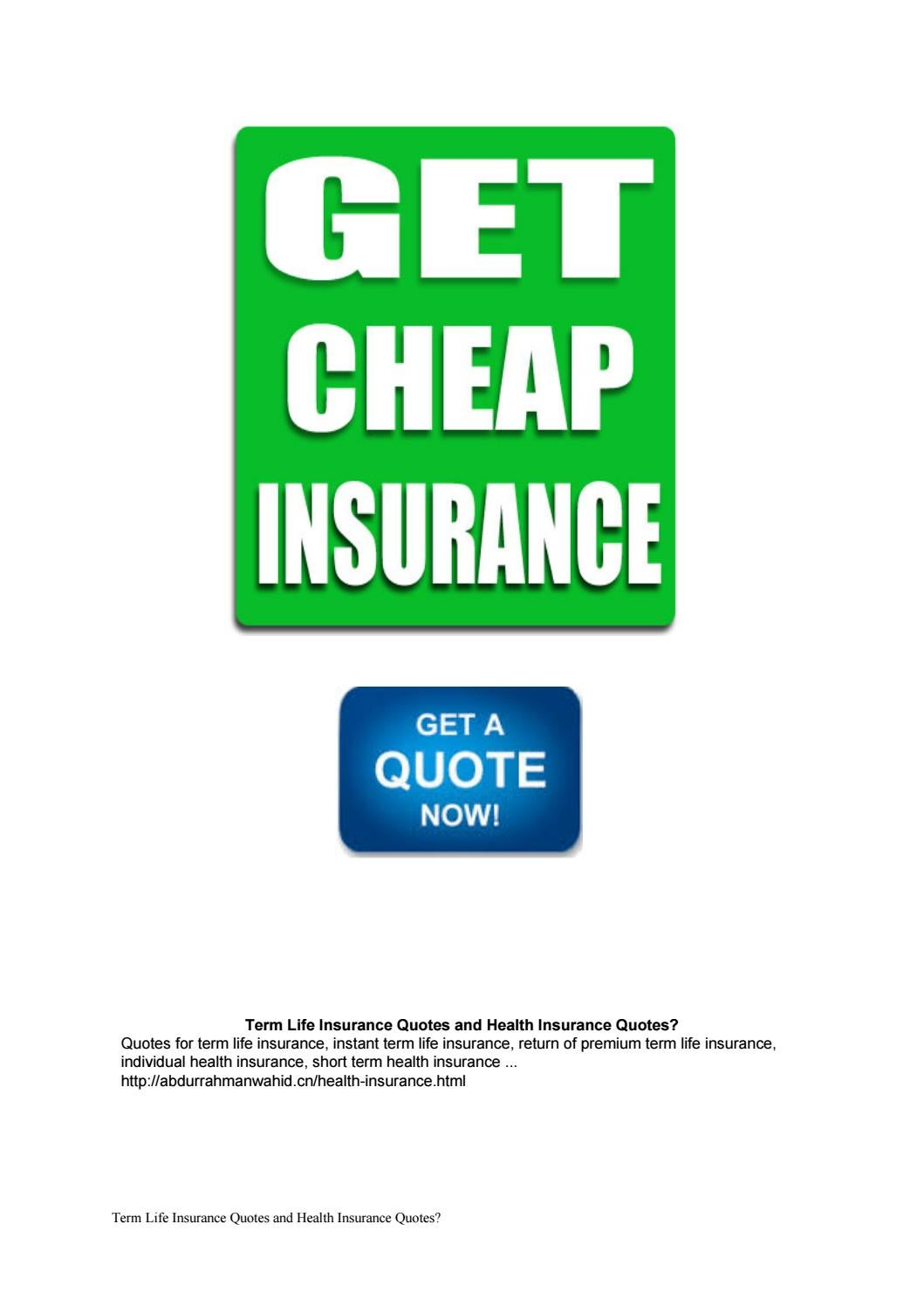 Instant Term Life Quotes Term Life Insurance Quotes And Health Insurance Quotes.