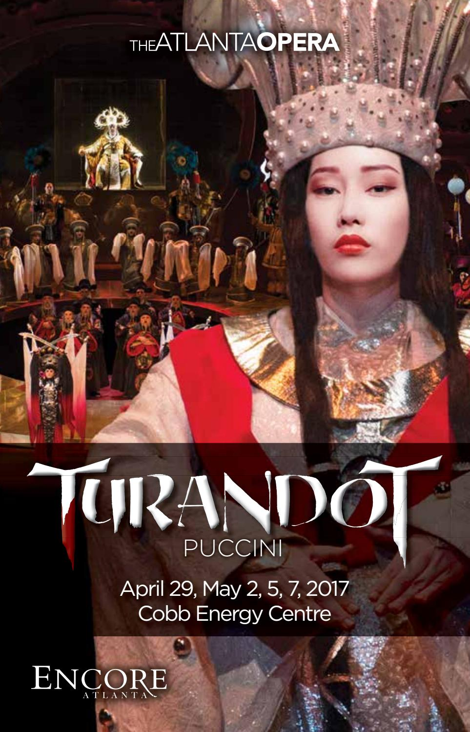 The Atlanta Opera Turandot By Encore Atlanta Issuu