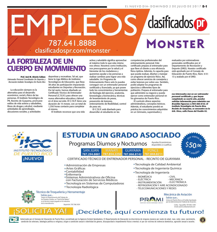 Empleos 07 02 2017 by ClasificadosPR.com - issuu