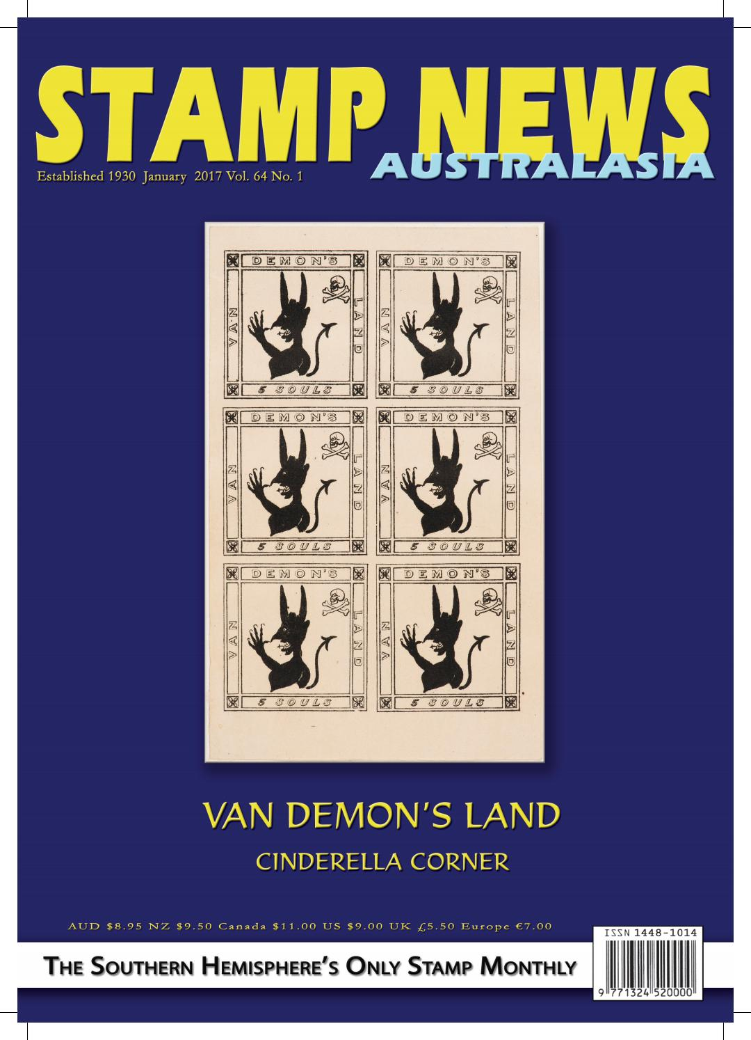 Stamp news australasia january 2017 by stamp news australasia issuu fandeluxe Image collections
