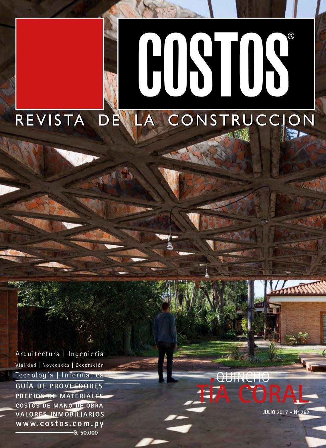 Costos 262 Julio 2017 by Revista Costos (Paraguay) - issuu 57c002b414dd