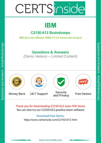 2019 Updated IBM C2150-612 Questions Killtest by studyguide - issuu