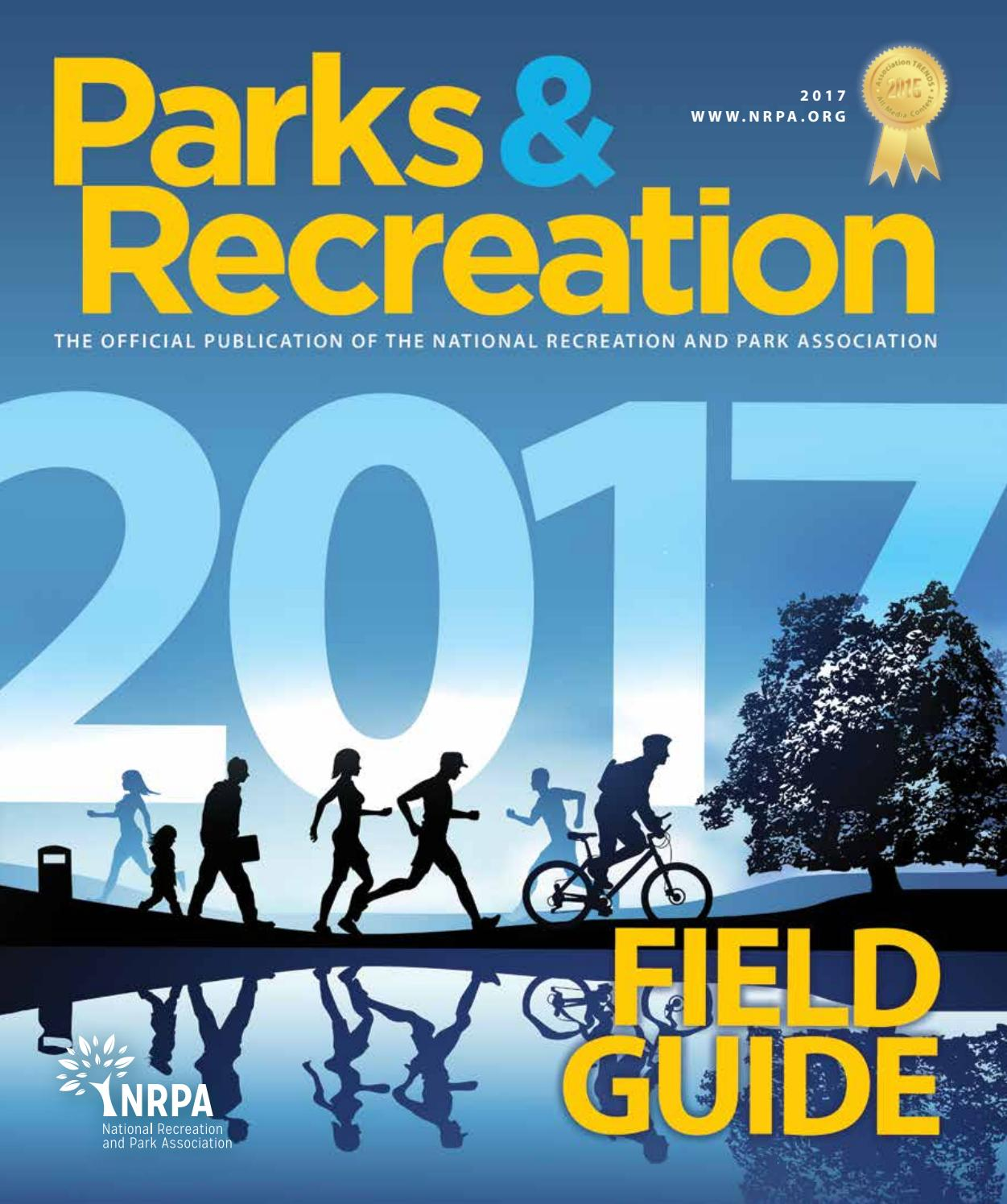 Parks & Recreation 2017 Field Guide by Creative By Design - issuu