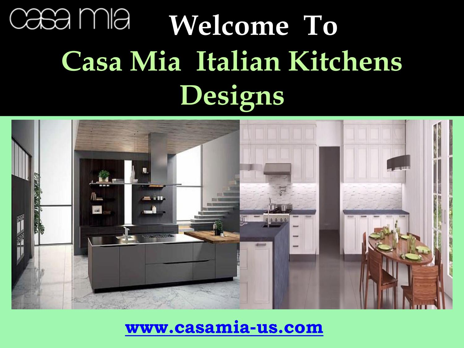 Miton italian kitchens by Casa Mia USA, Inc - issuu