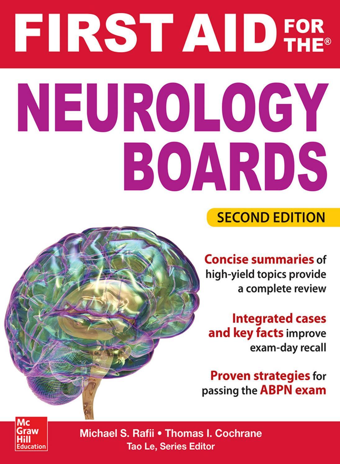 First aid for the neurology boards 2e by shaikh bdulgafar