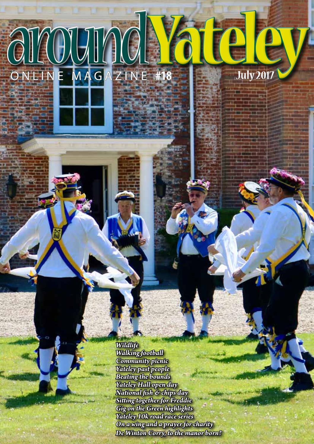 July 2017 Issue By Around Yateley
