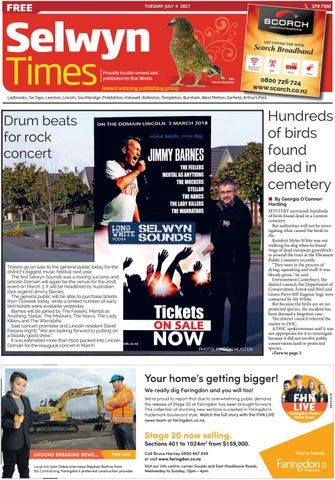 Selwyn Times 04 07 17 By Local Newspapers
