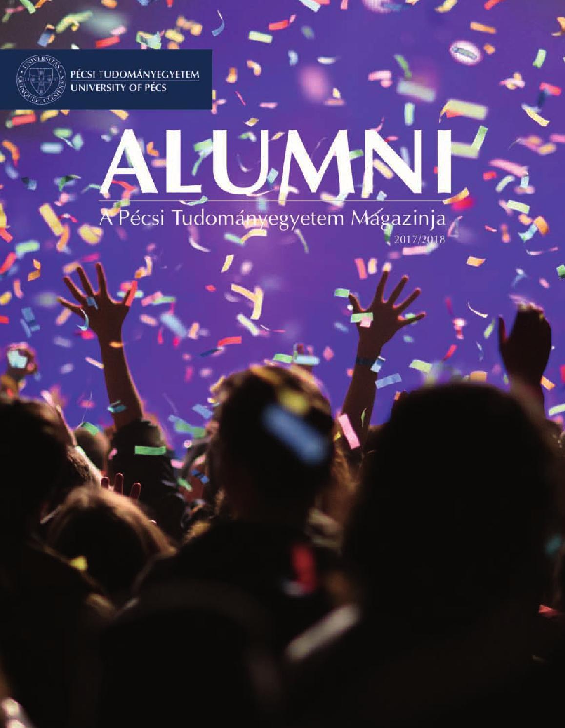 192eb9a2d9 Alumni magazin 2017 by UnivPécs - issuu