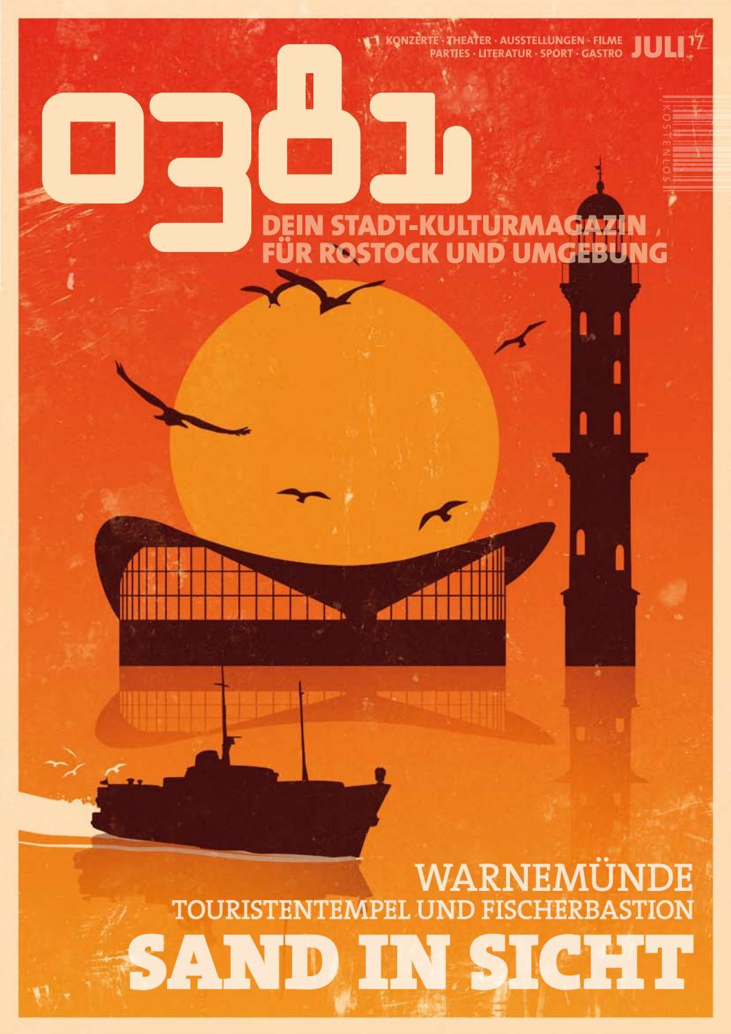 0381 – Dein StadtKulturMagazin für Rostock und Umgebung Juli