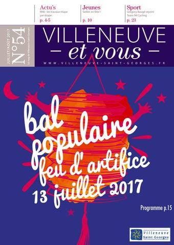 Villeneuve Ville 2017 Et Vous By De N°54 Juilletaoût FKc3T1lJ