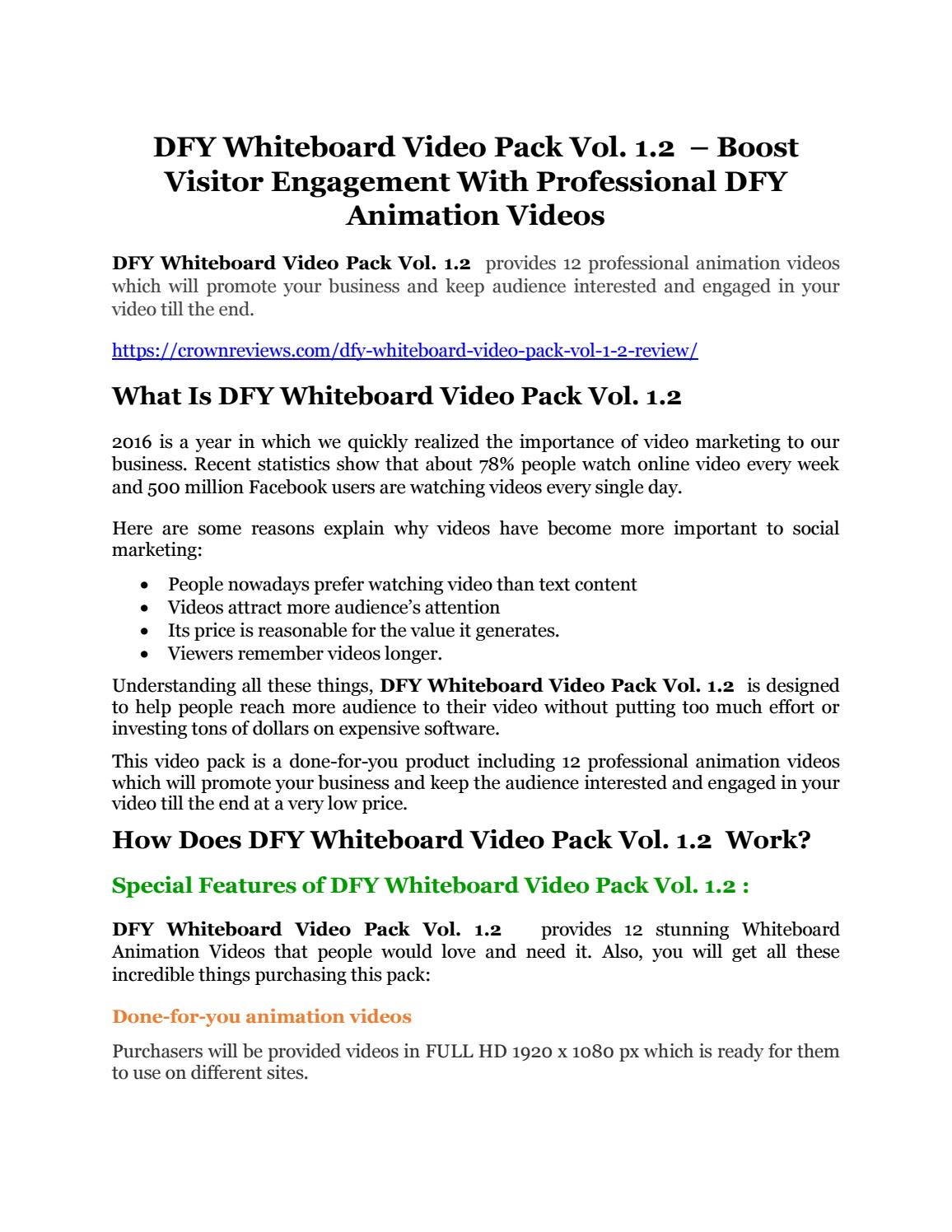 Dfy whiteboard video pack vol 12 review and giant 21600 bonuses dfy whiteboard video pack vol 12 review and giant 21600 bonuses by huzicili issuu ccuart Image collections