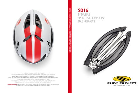 2a0a0c60b69 Rudy Project 2016 ENG by hostettler group - issuu