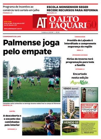 Jornal O Alto Taquari - 30 de junho de 2017 by Jornal O Alto Taquari ... 3f5aac2f6d