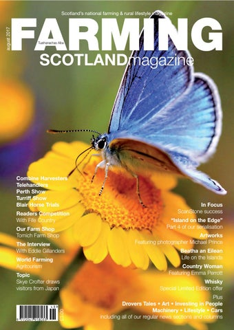 Farming Scotland Magazine (July-August 2017) by Athole Design