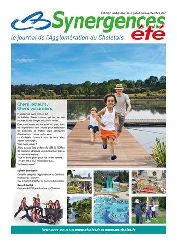 Synergences hebdo t 2017 by agglom ration du choletais issuu - Office de tourisme du choletais ...