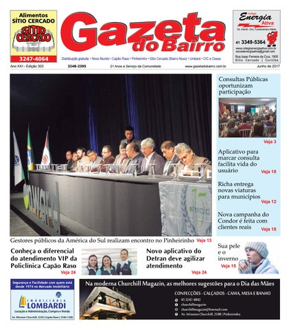 6b97c8bfe82 Gazeta do bairro jun 2017 by Gazeta do Bairro - issuu