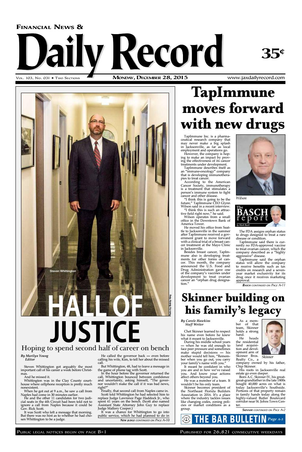 20151228 by Daily Record & Observer LLC issuu