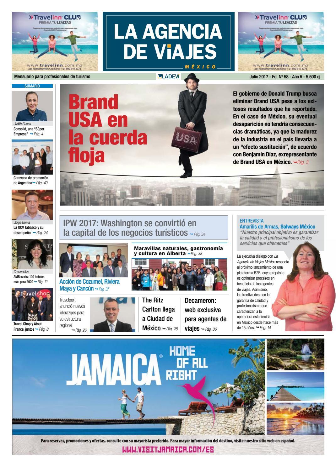 La Agencia de Viajes México Nº 58 by La Agencia de Viajes - issuu