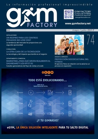 buy online 484db 278e9 Gym Factory   Gestión nº74 by Gym Factory Magazine - issuu