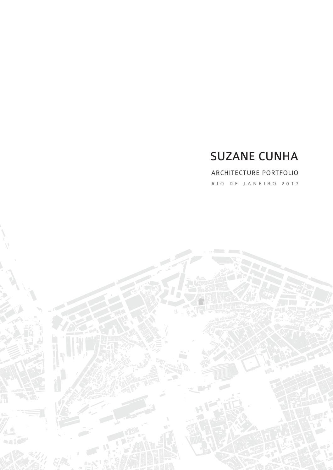 Suzane Cunha Architecture Portfolio 2017 English By Suzane Cunha