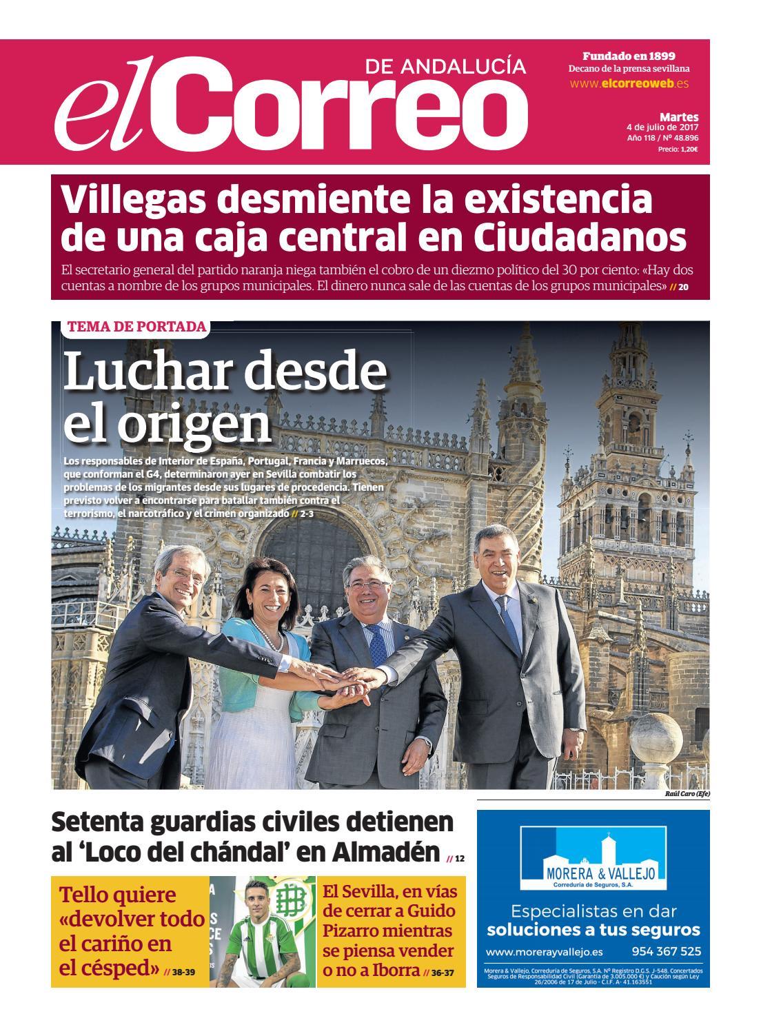 04 07 2017 El Correo De Andaluc A By El Correo De Andaluc A S L  # Cambalache Gaditano Muebles