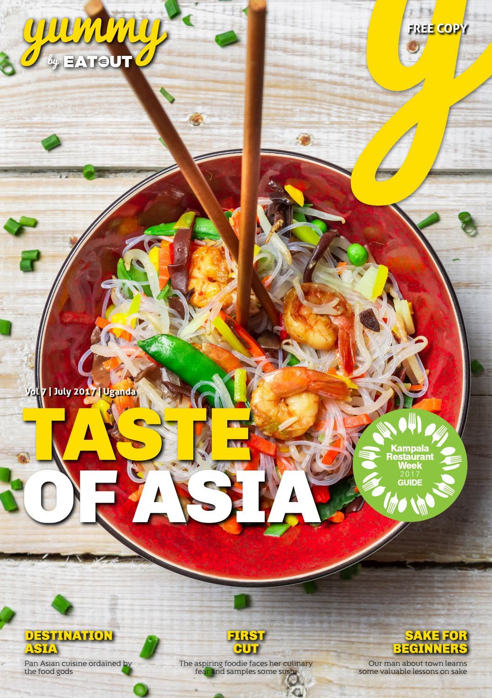 Yummy Uganda Vol 25 Taste of Asia by Yummy Magazine   issuu