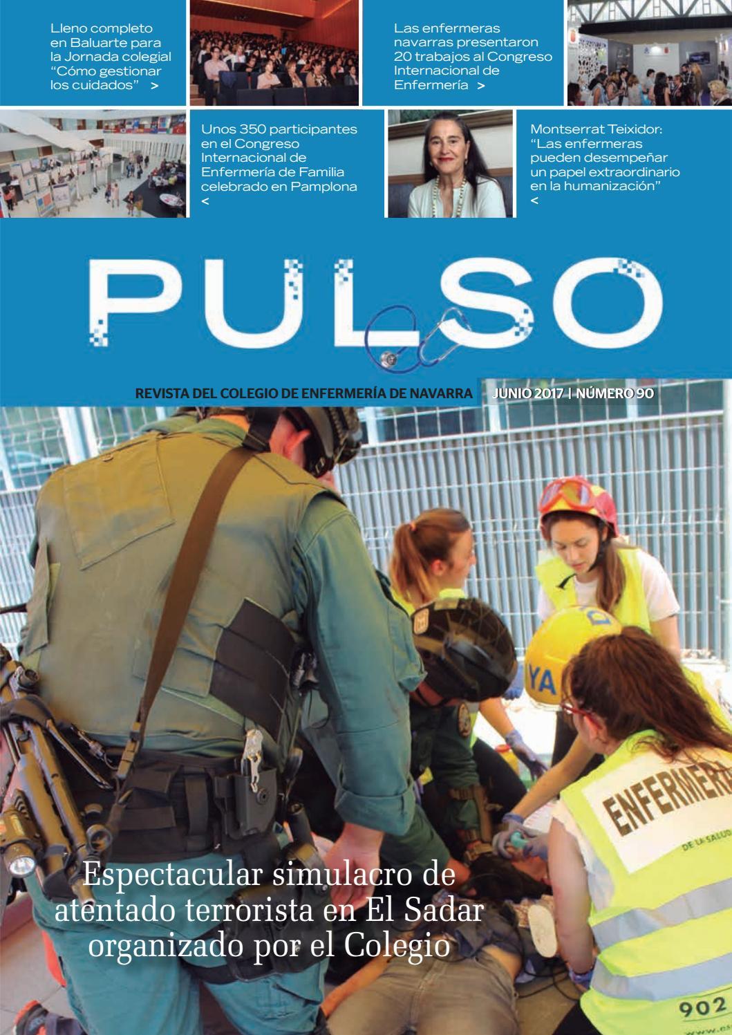 Pulso 90 by Colegio de Enfermería de Navarra - issuu