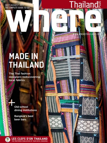 2f03cbec7f Where® Thailand July-August 2017 by Where Thailand - issuu
