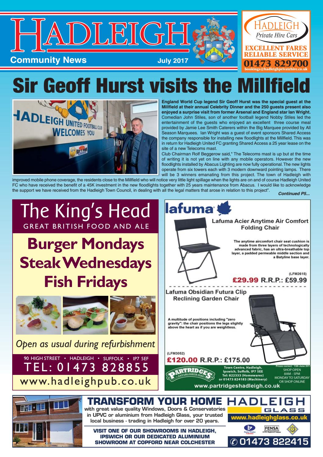 Hadleigh Community News July 2017 By Keith Avis Printers