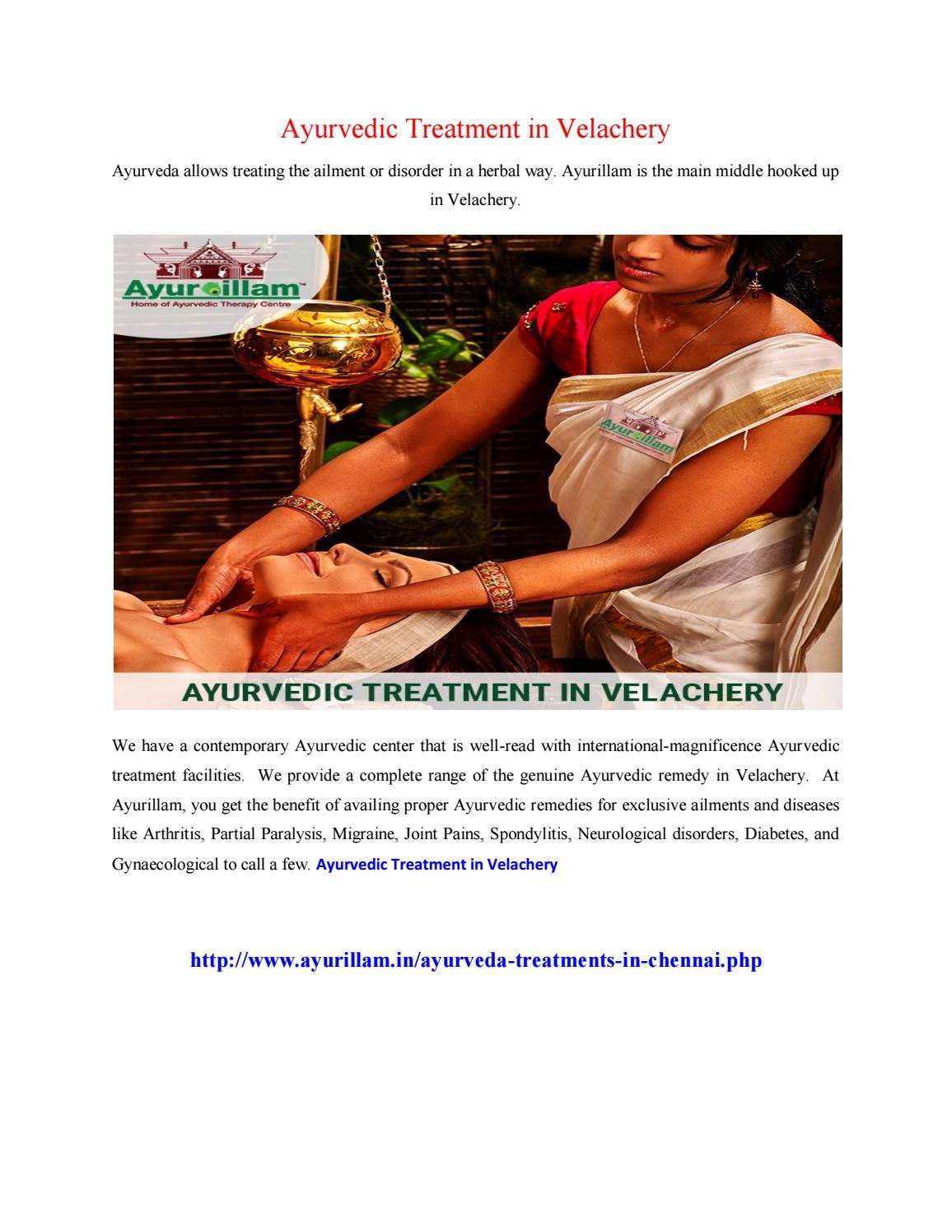 Ayurvedic treatment in velachery by Anandini - issuu