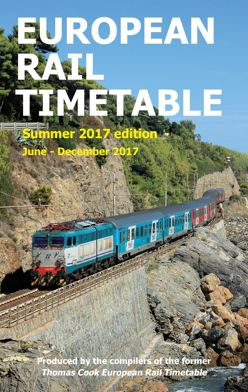 Sum2017 European Rail Timetable SAMPLE by European Rail
