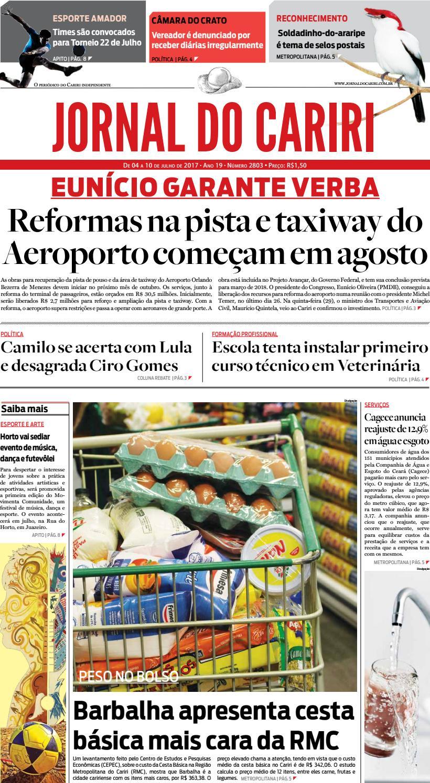 Jornal do Cariri - 04 a 10 de julho de 2017 by Ceará News - issuu e96e401ca66d1