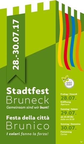 Stadtfest Bruneck Broschüre Web by Stadtmarketing Bruneck - issuu