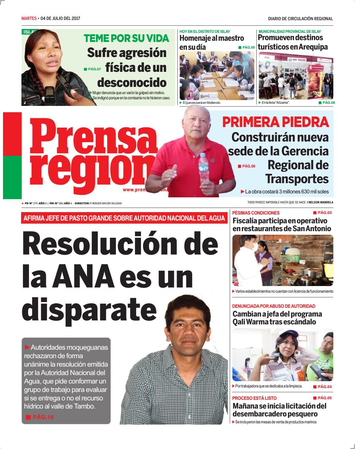 04 07 2017 m i by Diario Prensa Regional - issuu