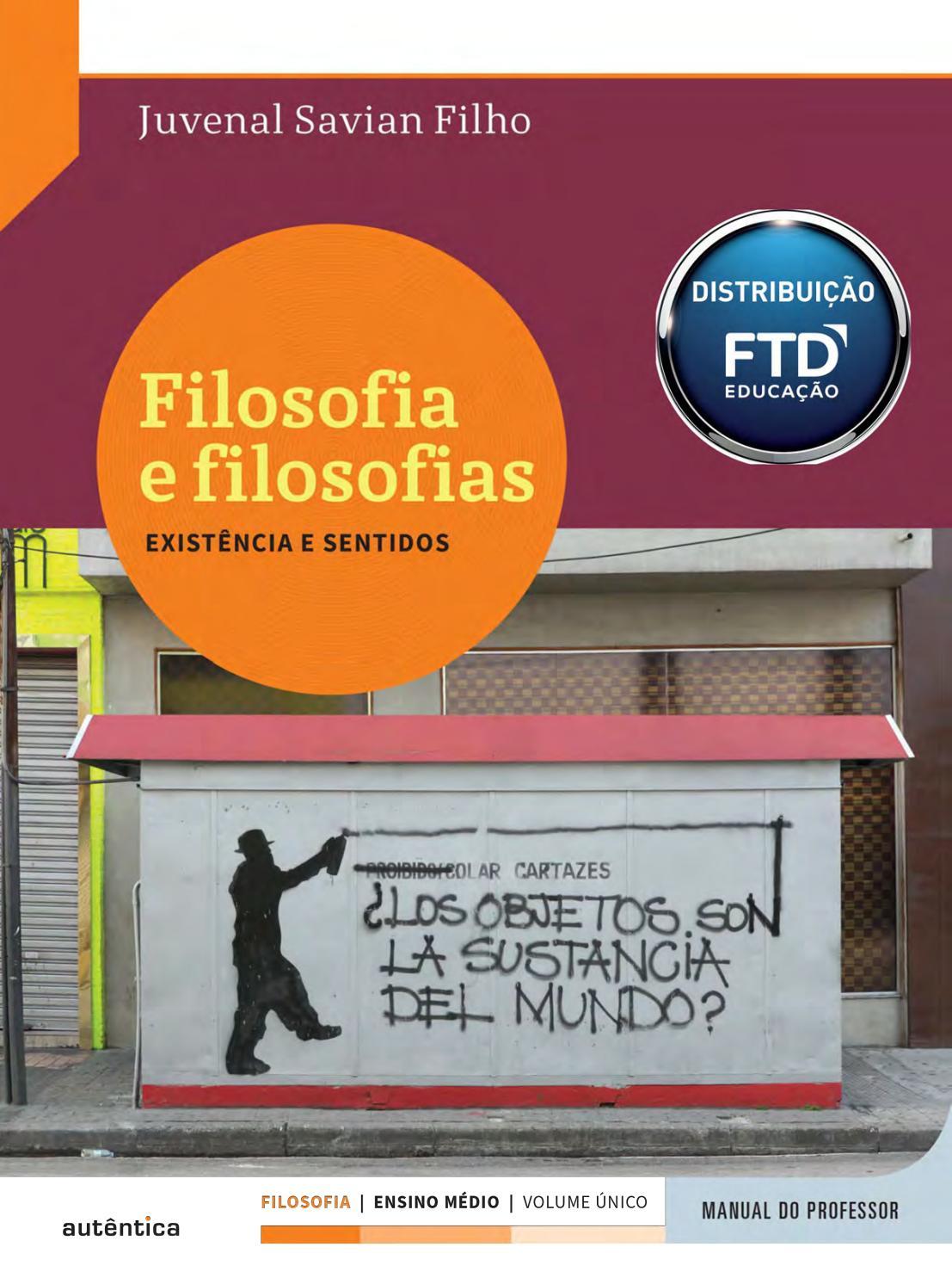 Filosofia autentica by Editora FTD issuu