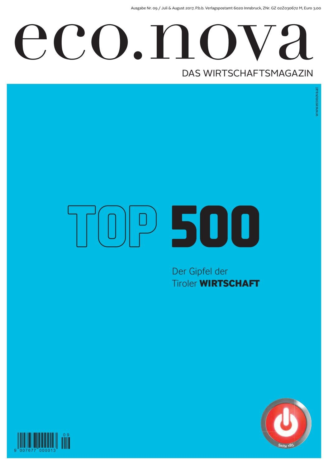 eco.nova TOP 500 2017 by eco.nova verlags gmbh issuu