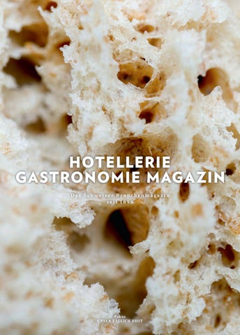 Hg Magazin 22017 By Hotelleriegastronomieverlag Issuu