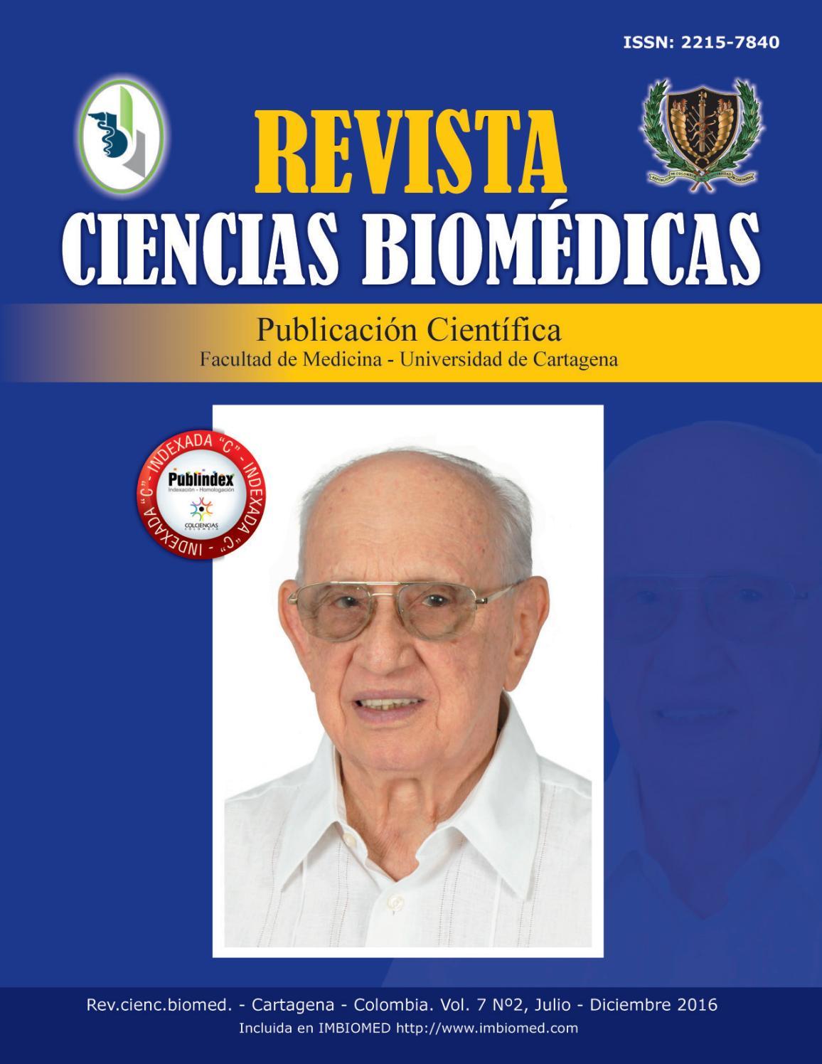 Revista Ciencias Biomédicas Vol. 7(2) by Revista Ciencias Biomédicas ...