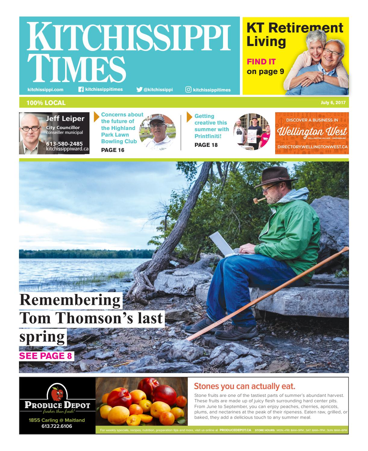Kitchissippi Times | July 6, 2017 by Great River Media inc  - issuu