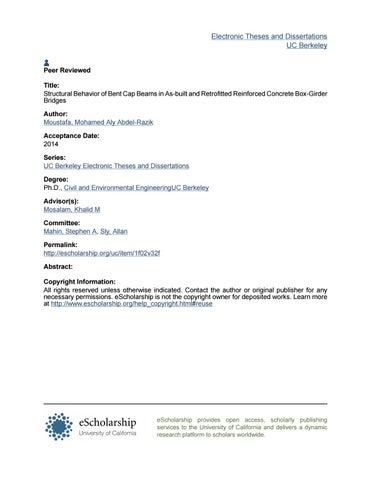 Phd thesis by luis horacio martnez martnez issuu electronic theses and dissertations uc berkeley peer reviewed title structural behavior of bent cap beams in as built and retrofitted reinforced concrete fandeluxe Images