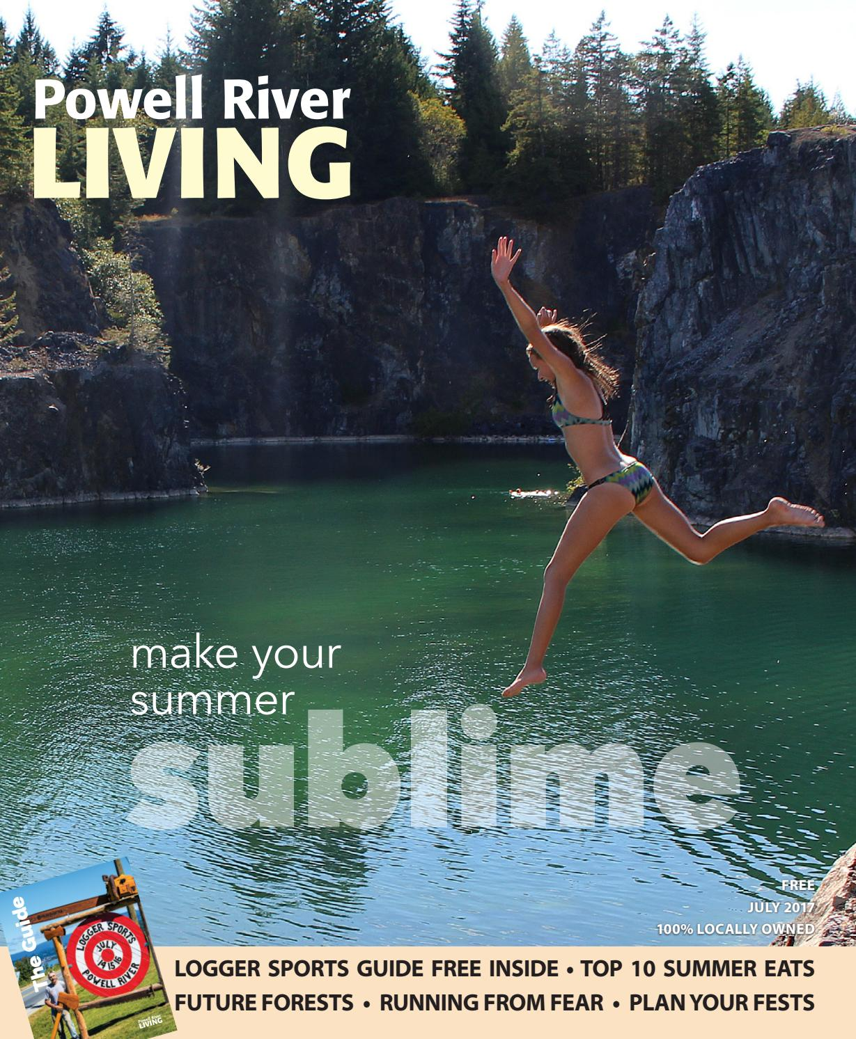 Powell River Living - July 2014 by Sean Percy - issuu