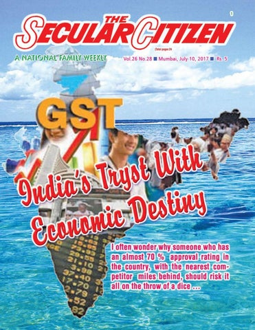 Secular Citizen Vol 26 No 28 dated 10th July 2017 by