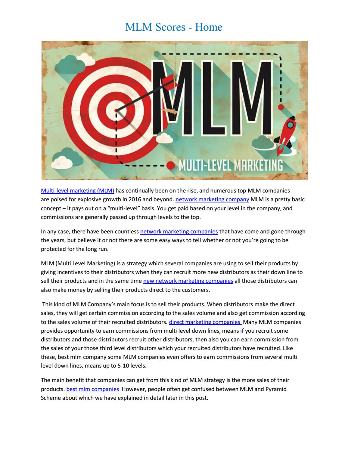MLM Scores - Home by acclevantseo - issuu