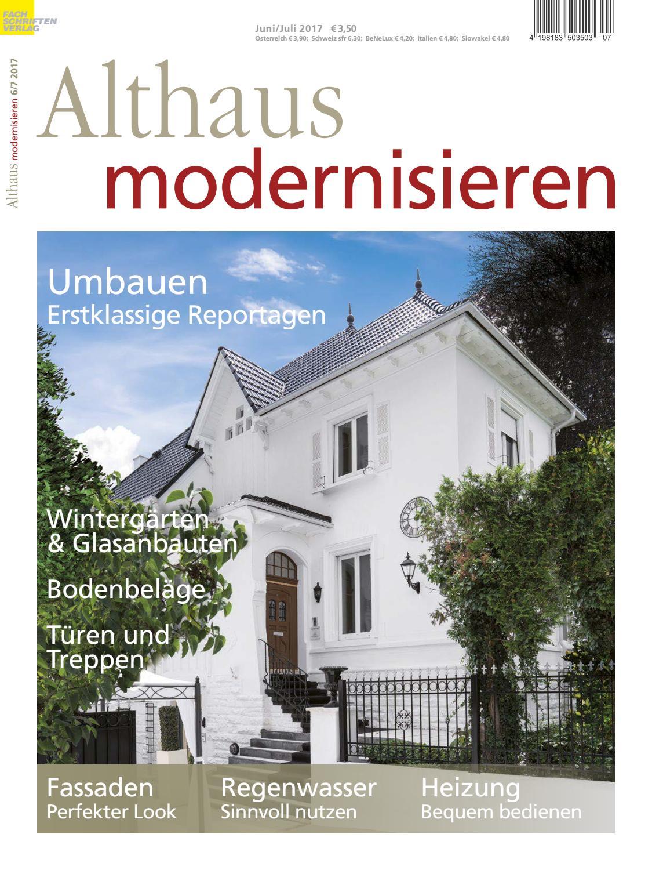 Gut Althaus Modernisieren 6/7 2017 By Fachschriften Verlag   Issuu