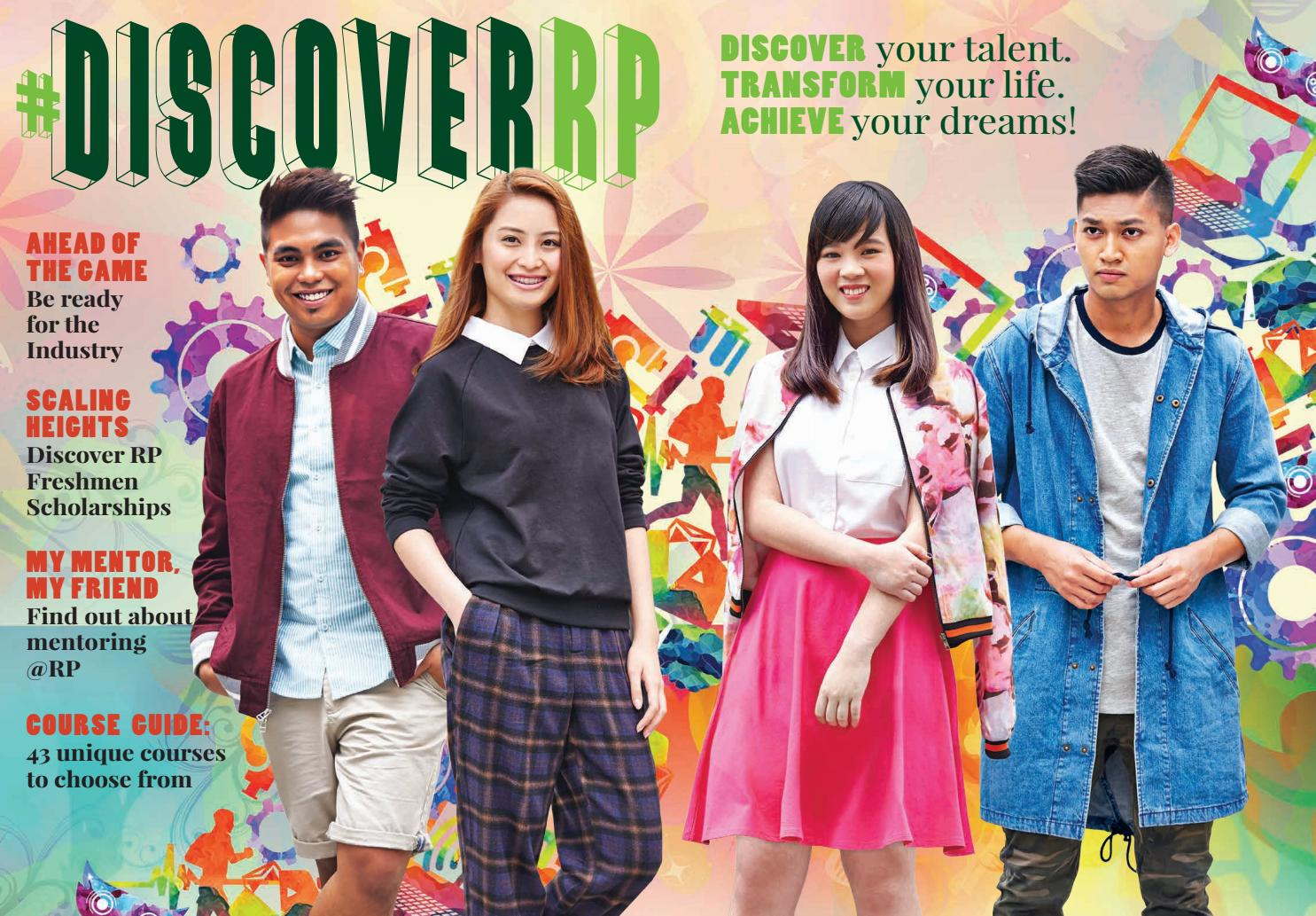 DiscoverRP - March 2016 by Republic Polytechnic - issuu