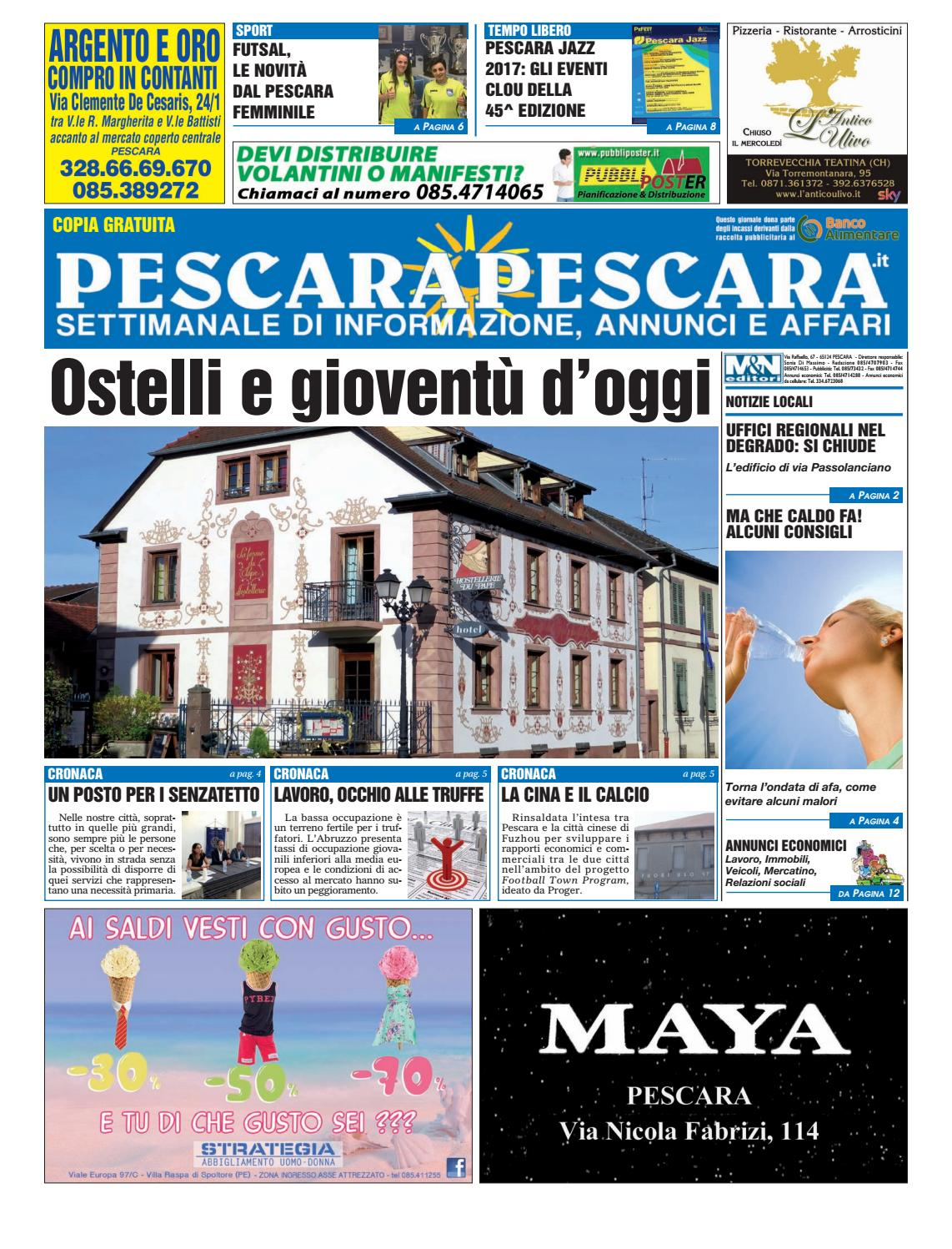 Pescarapescara N 26 Del 05 07 2017 By Pescarapescara Issuu