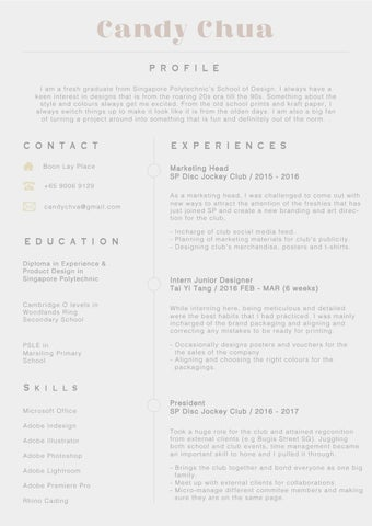 Candy's resume by Candy Chua - issuu